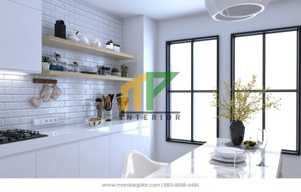 Mau Bangun Rumah Atau Renovasi Rumah Dengan Dapur Yang Memiliki Bufet?